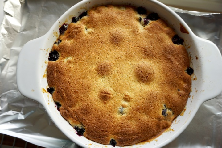Blueberry Buckle #TheBakingBible
