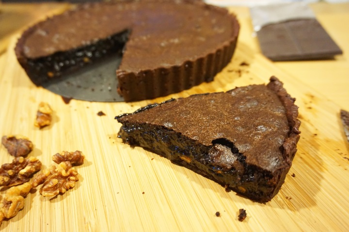 Fudgy Pudgy Brownie Tart #TheBakingBible