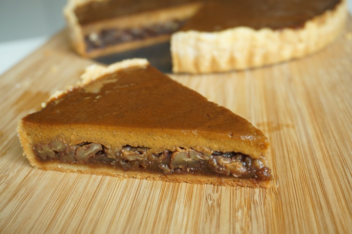 Pumpkin Pecan Pie #TheBakingBible