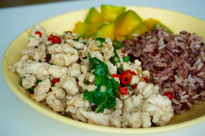 Thai Basil Chicken (Gai Pad Krapow)|ผัดกระเพราไก่