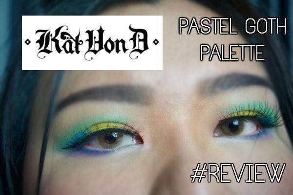 KAT VON D: Pastel Goth Eyeshadow Palette (LimitedEdition)